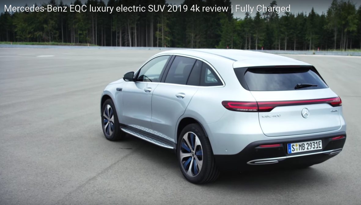 Fully Charged Mercedes EQC Electric SUV Lovefest ...