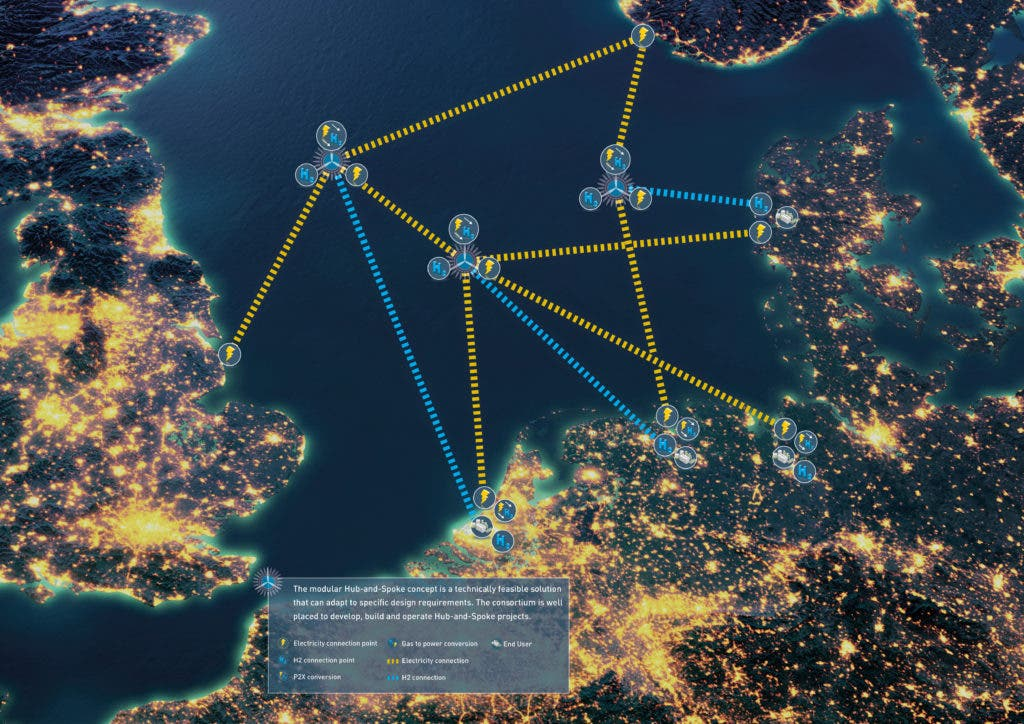 photo of Plan To Build 10 Offshore Wind Power Hubs In North Sea Deemed Feasible image