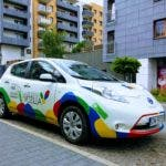 Using The Vozilla Electric Carsharing Program In Wroclaw, Poland
