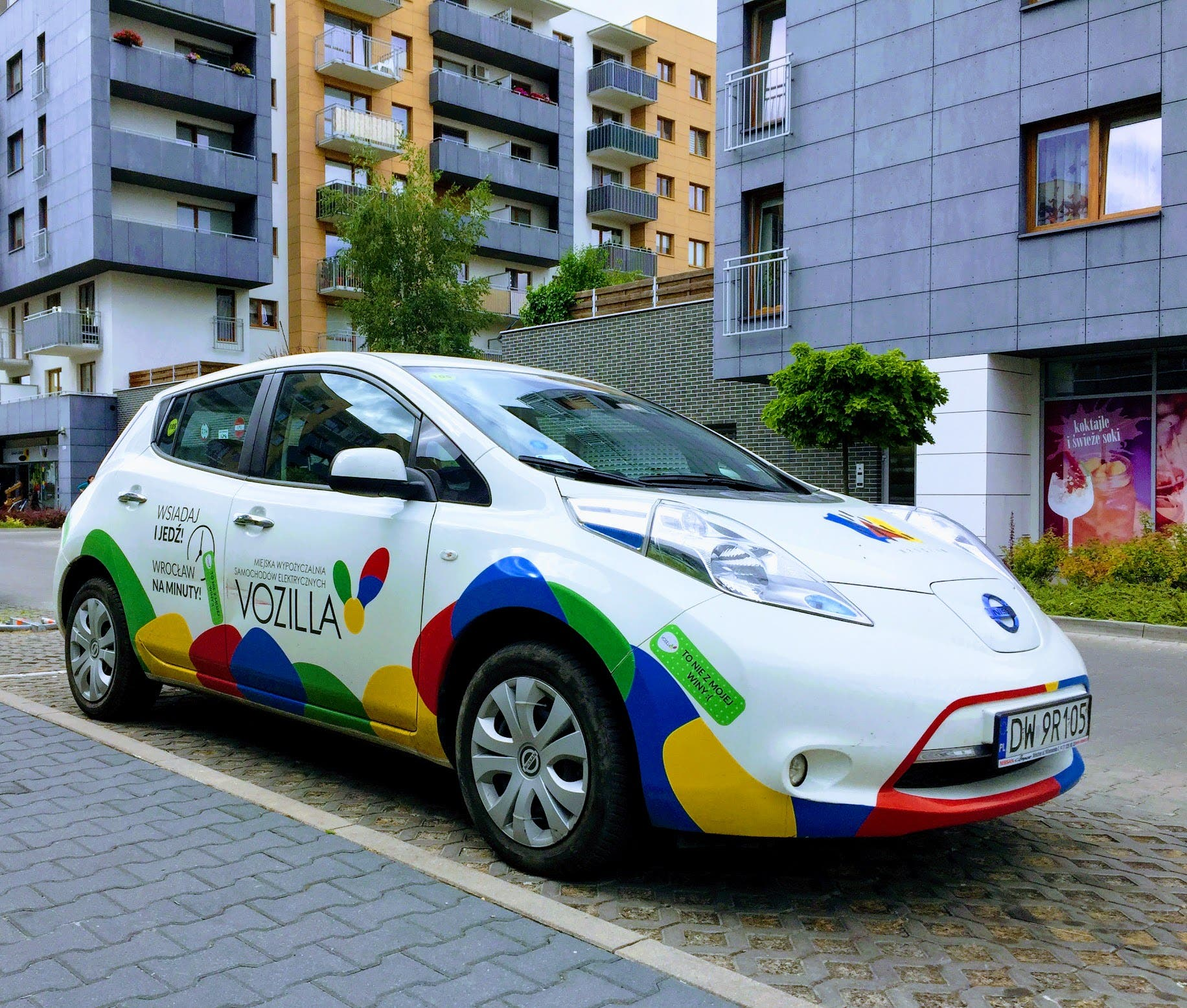 Using The Vozilla Electric Carsharing Program In Wroclaw