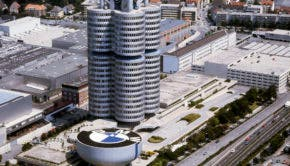 BMW Headquarters and Museum. Pictures 1968 to 2004. (07/2013)