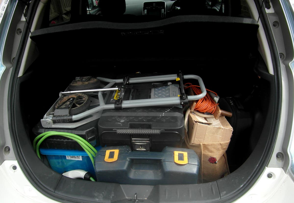 Capacious Luggage Space - Full