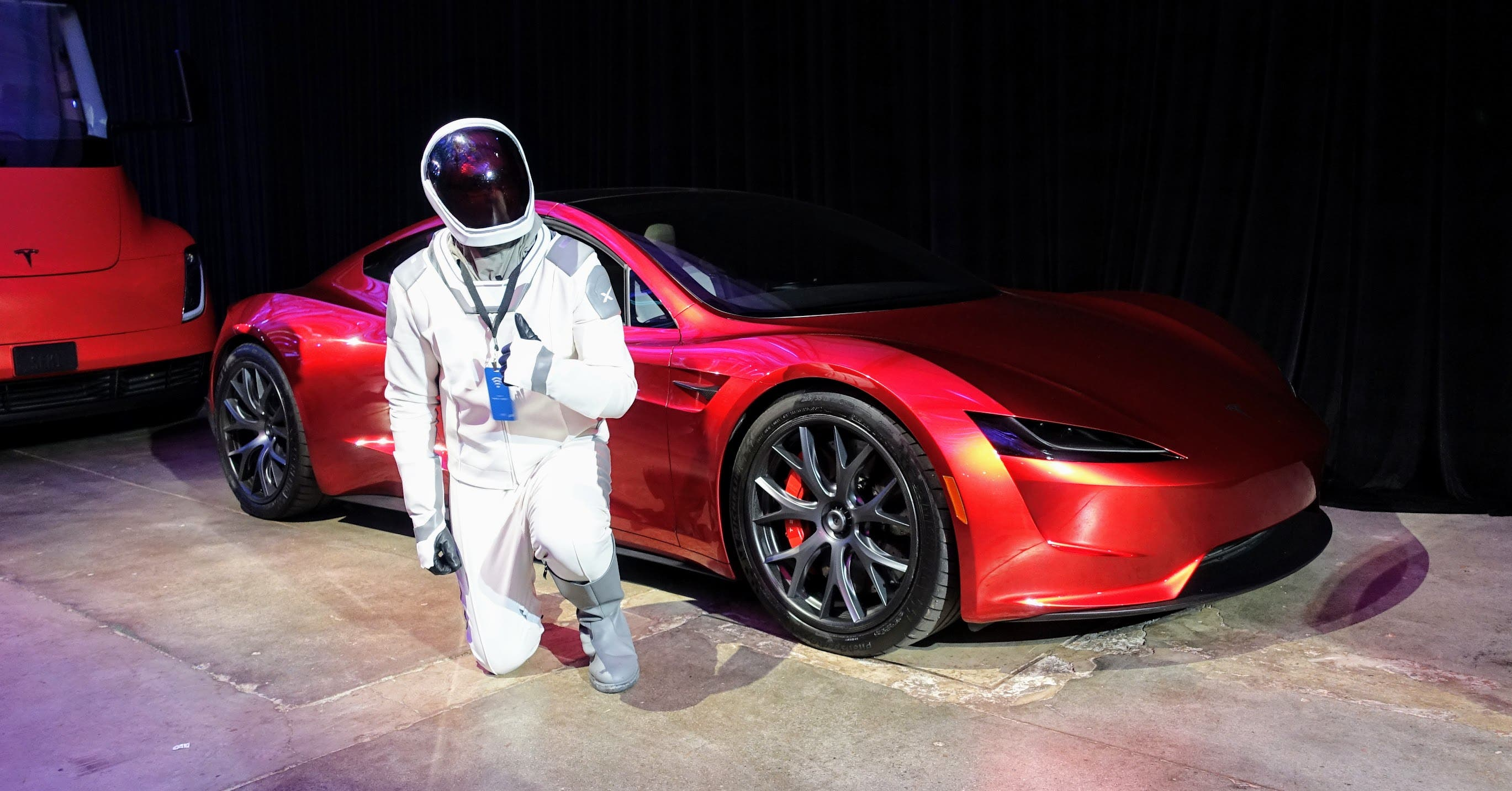 Tesla Roadster Will Really Use SpaceX Rocket Thrusters — Because Elon | CleanTechnica