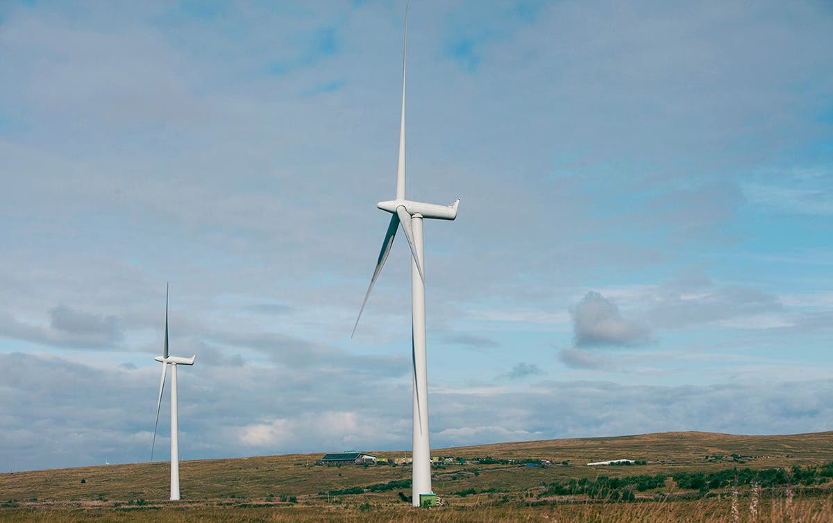 Electricity from Scotland's wind turbines could power homes in England