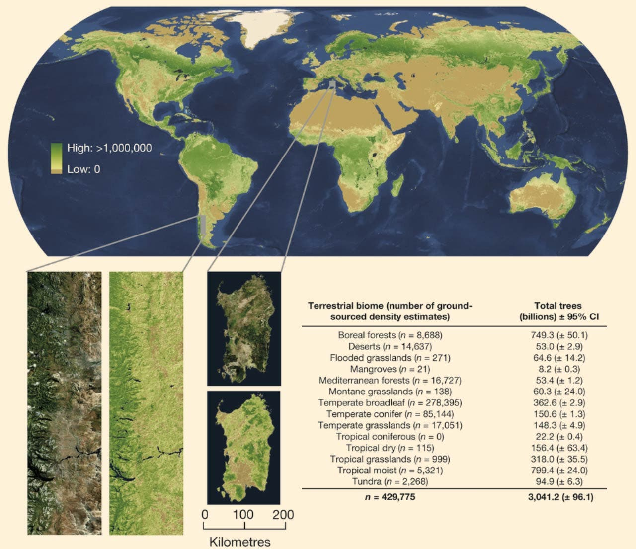 """Map of world showing location of existing 3 trillion trees """"width ="""" 1280 """"height ="""" 1105 """"srcset ="""" https://cleantechnica.com/files/2019/07/image_3198_2e-Earth-Trees.jpg 1280w, https://cleantechnica.com/ files / 2019/07 / image_3198_2e-Earth-Trees-270x233.jpg 270w, https://cleantechnica.com/files/2019/07/image_3198_2e-Earth-Trees-768x663.jpg 768w, https://cleantechnica.com/ files / 2019/07 / image_3198_2e-Earth-Trees-570x492.jpg 570w """"sizes ="""" (max-width: 1280px) 100vw, 1280px"""