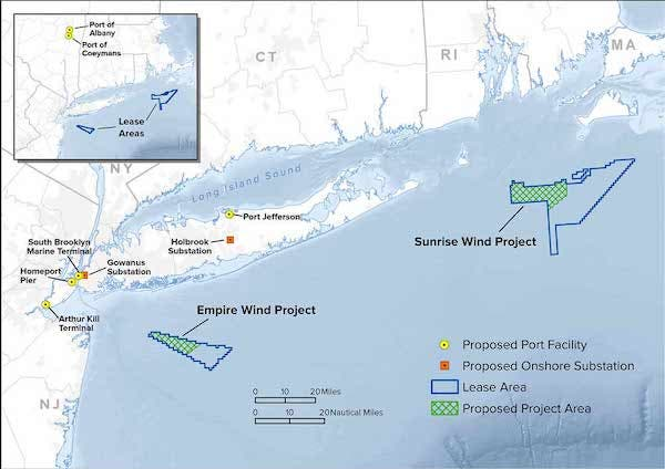 offshore wind power New York State