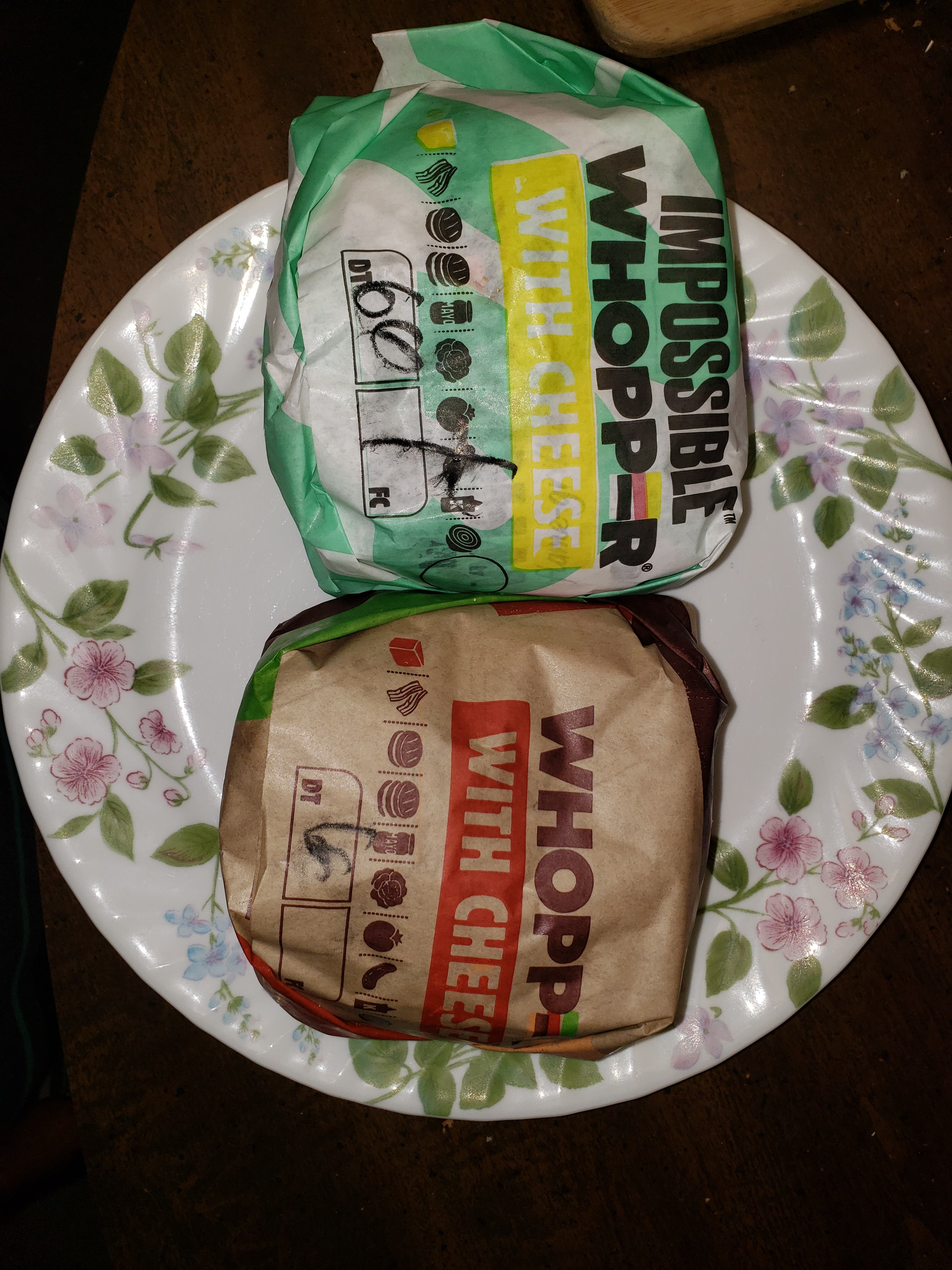 Burger King Dared Me (& My Cat) To Taste Test The Impossible Whopper