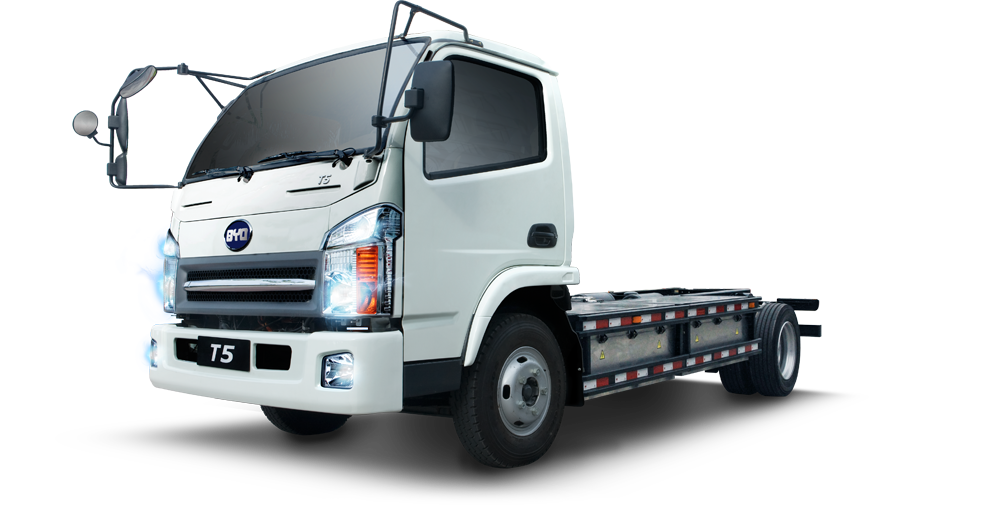 BYD Class 5 electric truck