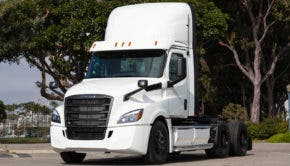 Freightliner eCascadia electric truck