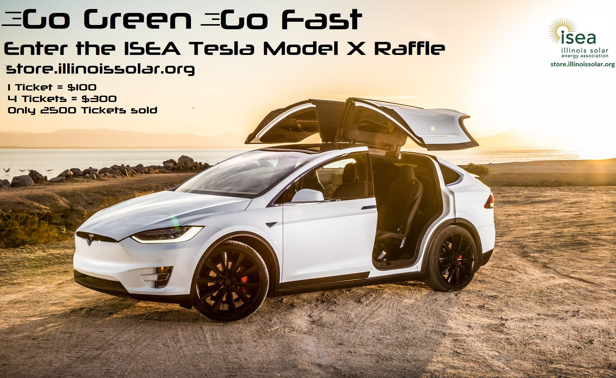 Win A 2019 Tesla Model X From The Illinois Solar Energy