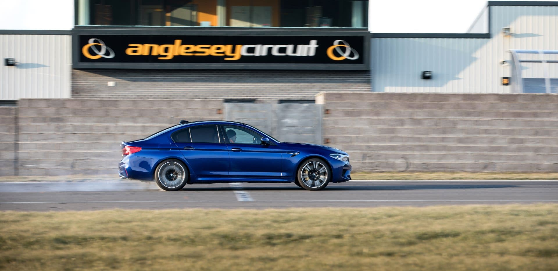 BMW M5 at Anglesey Circuit