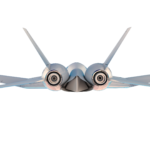 An eVTOL Aircraft That Can Act As A Conventional Electric Airplane