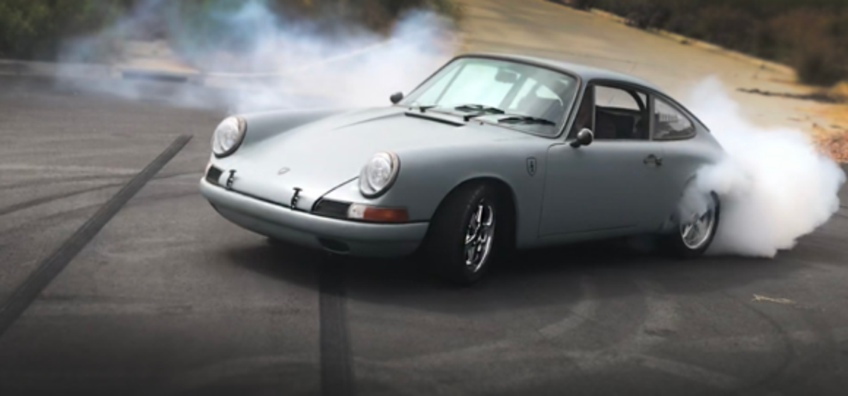 Electric Porsche 912 With Tesla Motor Video Interview