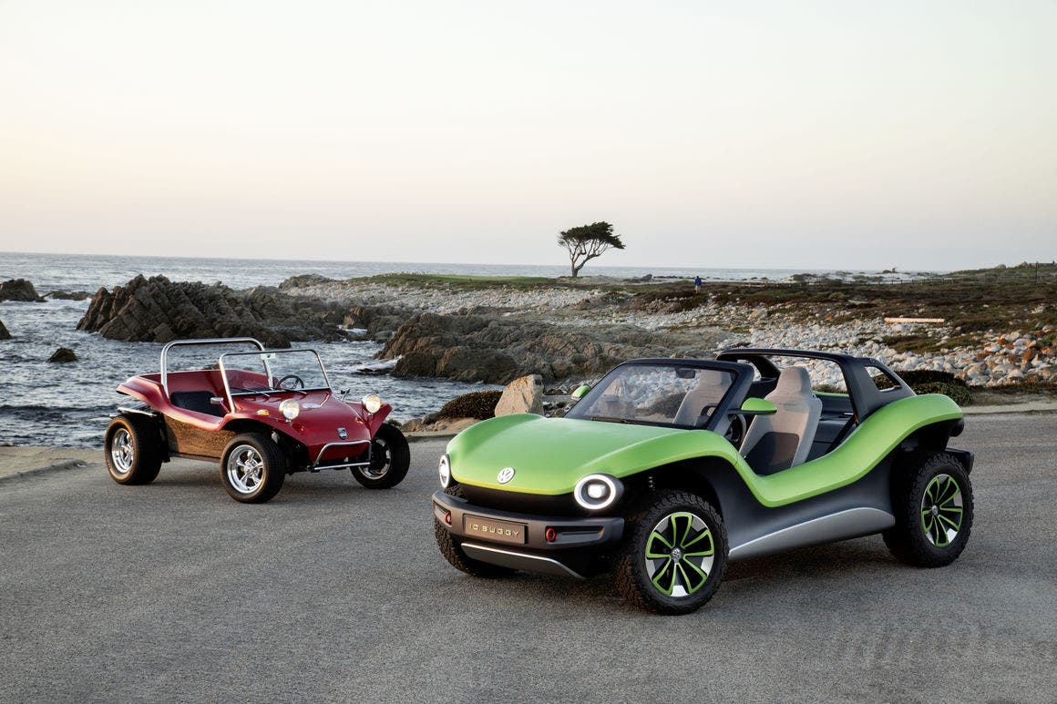 Volkswagen ID. BUGGY Debuts At Pebble Beach