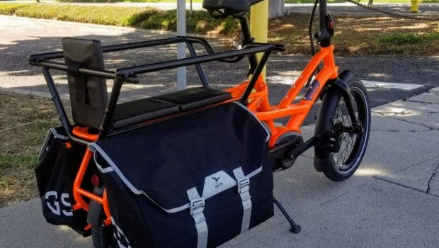 The Electrified Tern GSD Utility Bike Can Haul 400 Pounds Of