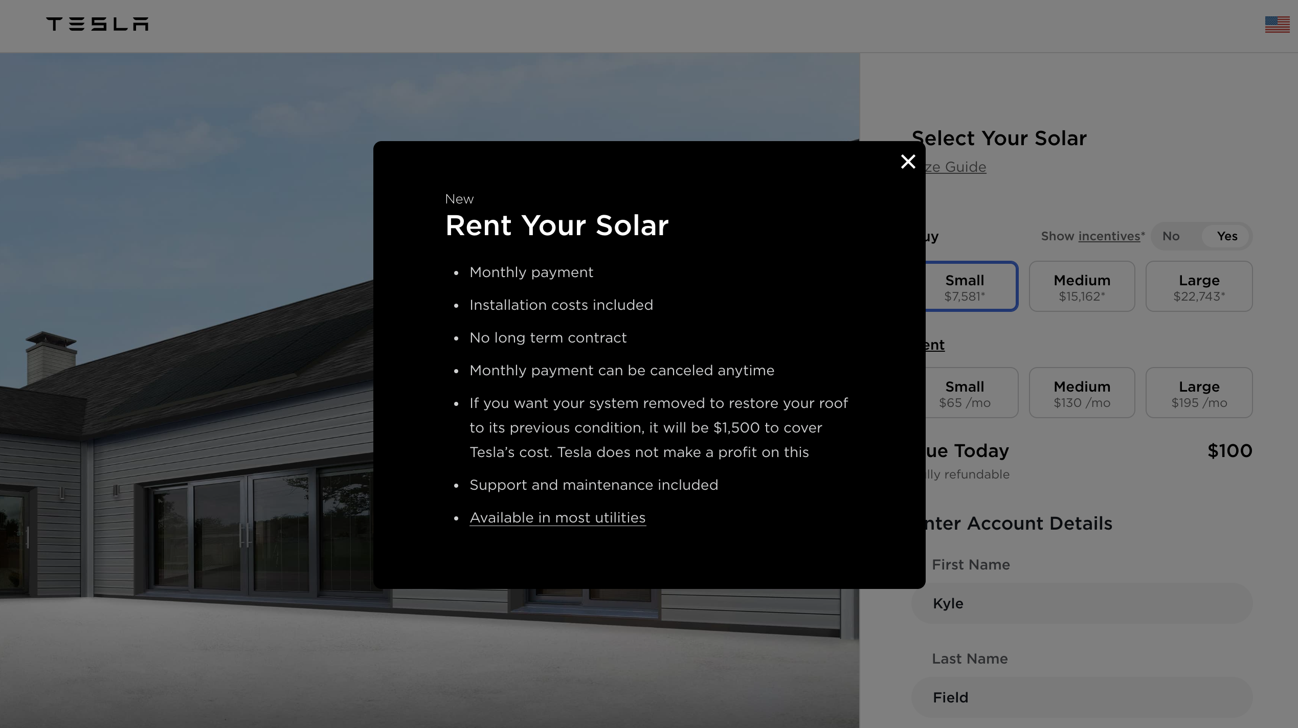 Tesla Makes Solar Affordable Again With New Monthly Rental