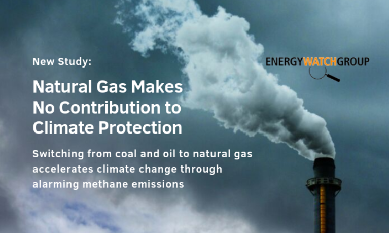 Energy Watch Group natural gas report