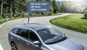 Fraunhofer ISE solar roof for cars