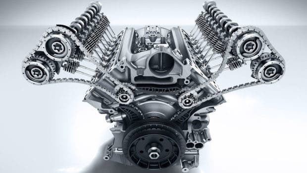 Mercedes internal combustion engine