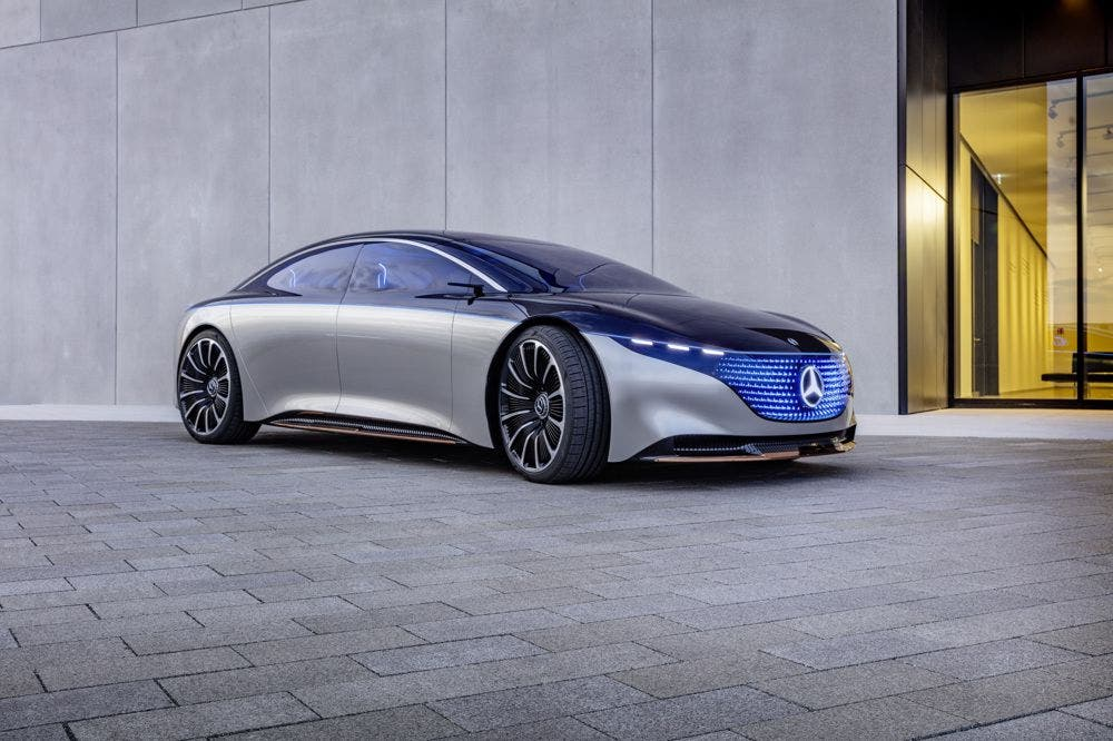 photo of The Mercedes EQS Concept Is Svelte, Sensuous, & Sustainable image