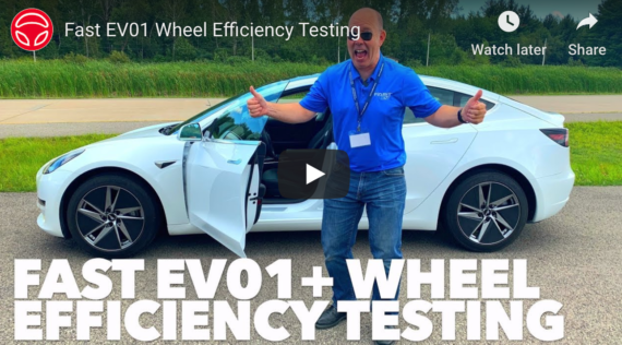 New Tesla Model 3 Aero Wheel From Fast Wheels — Wicked!