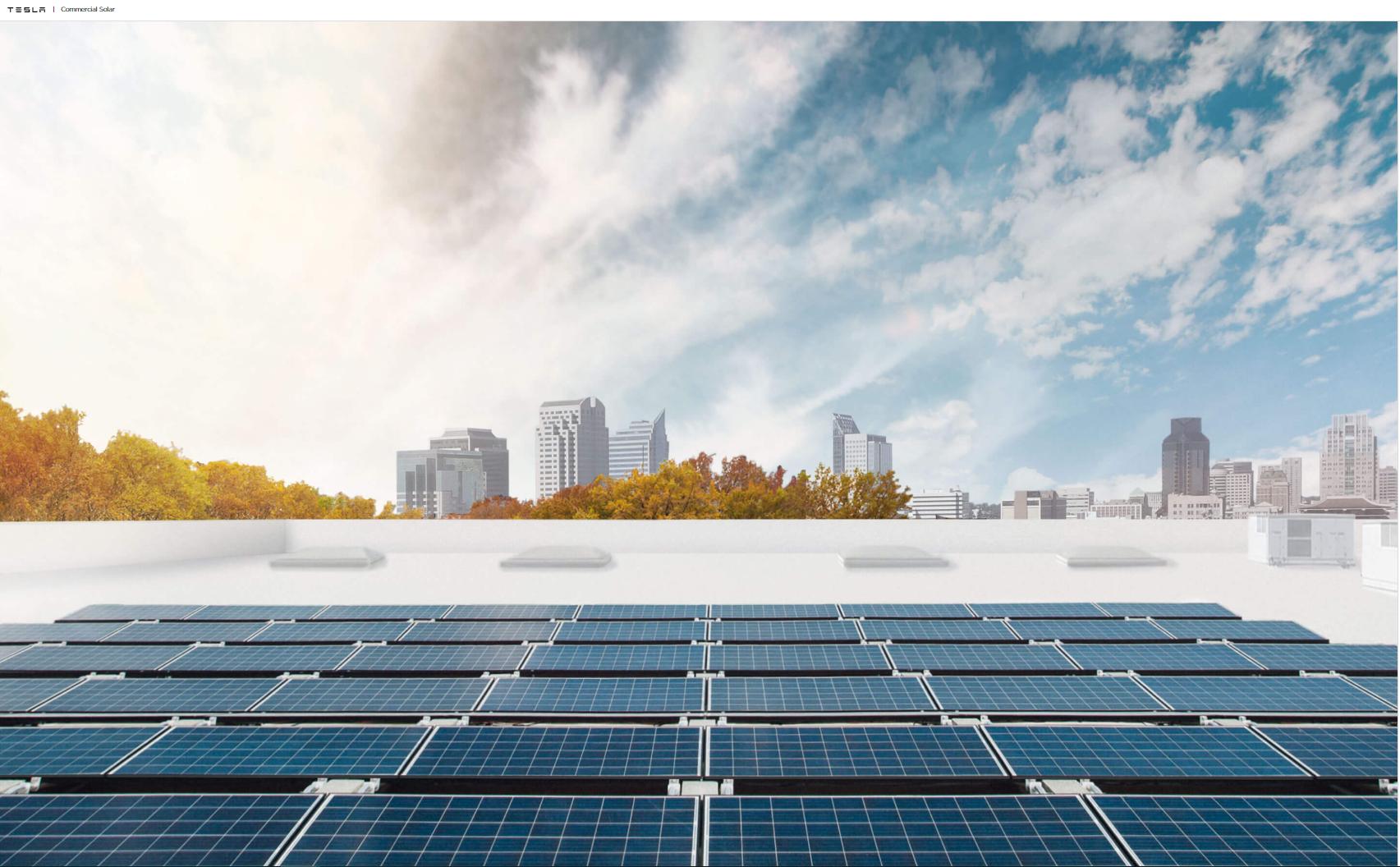 Tesla commercial solar