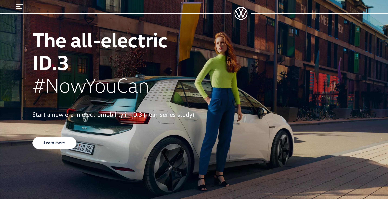 Volkswagen ID.3 ad