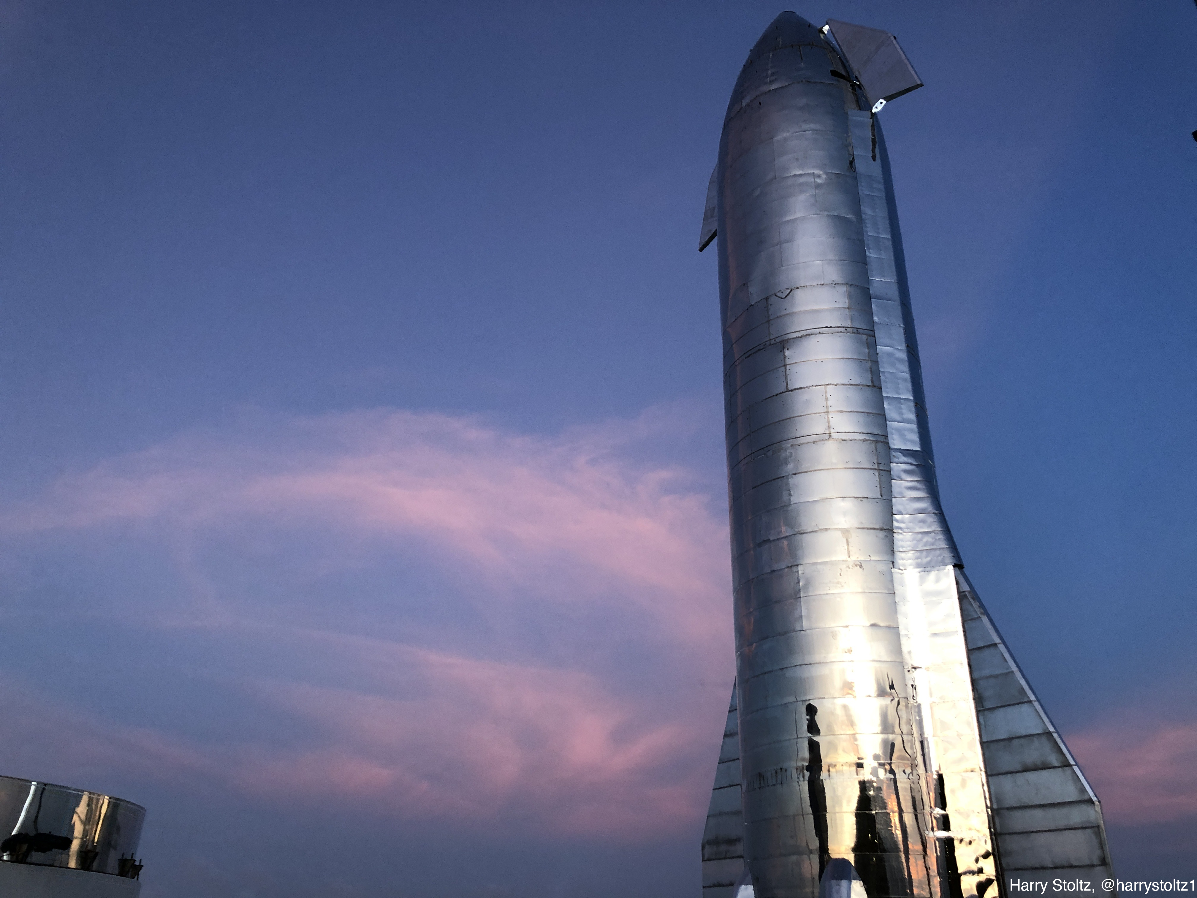 SpaceX Starship Harry Stoltz CleanTechnica