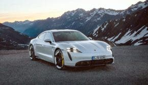 Porsche Taycan Press Image