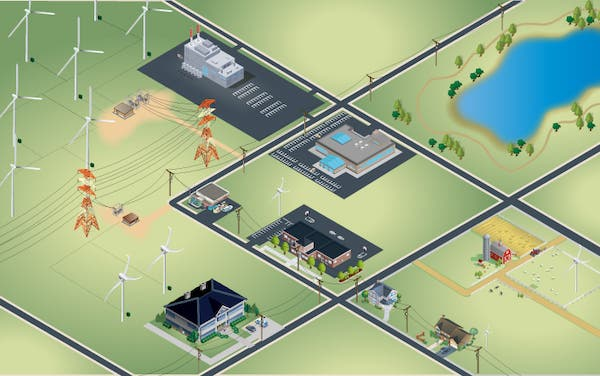 Distributed wind energy resources