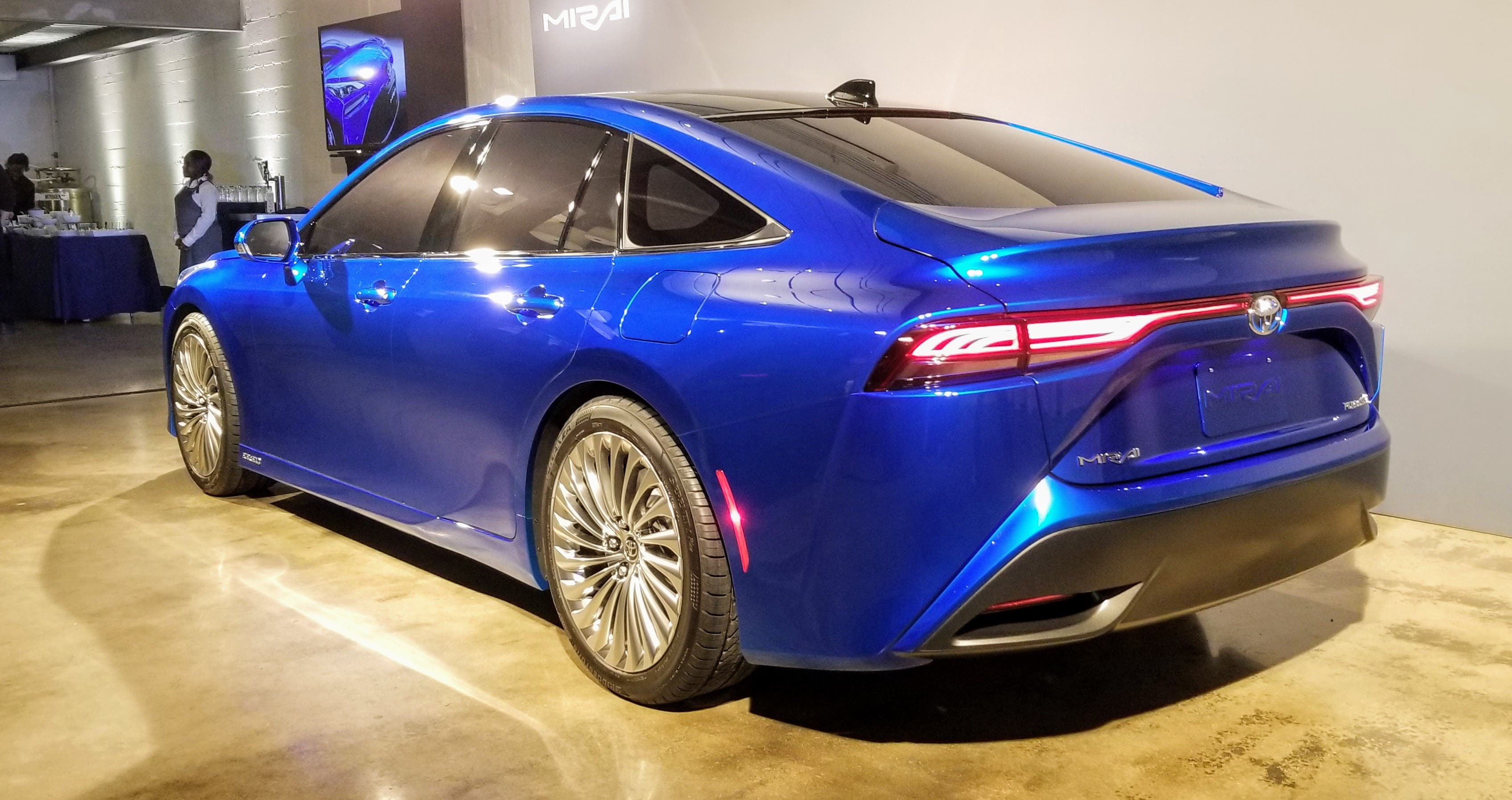 toyota introduces the new 2021 mirai  but without a plan for a fueling network