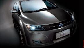 BYD electric car