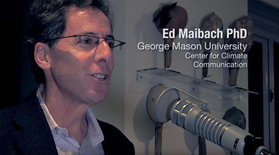 Ed Maibach polling expert