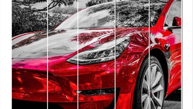 Red Model 3 Collage JRR | CleanTechncia