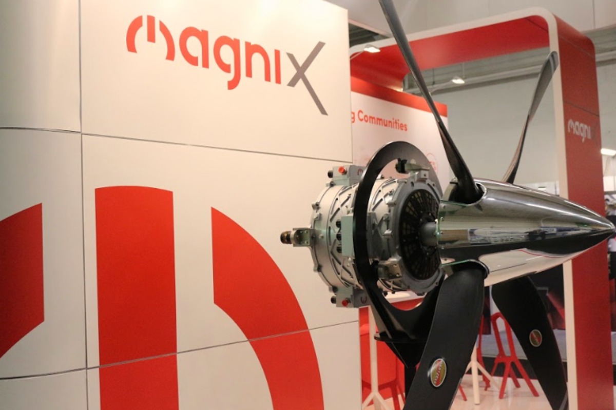 750 Horsepower Electric Aviation Engine Tested By Magnix