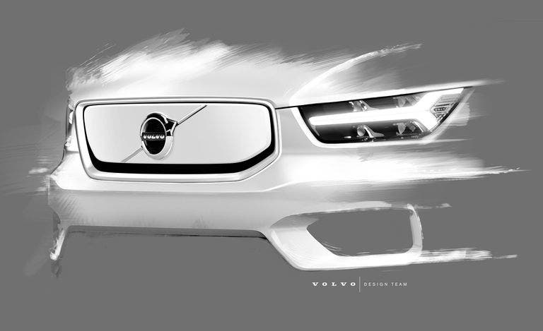 Volvo XC40 Electric Teased Ahead Of Reveal