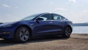 Blue Model 3 in the Adirondacks