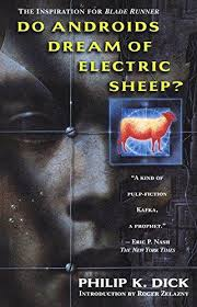 Image of Philip K. Dick book cover Do Androids Dream of Electric Sheep courtesy of Tempe Library at www.tempe.gov