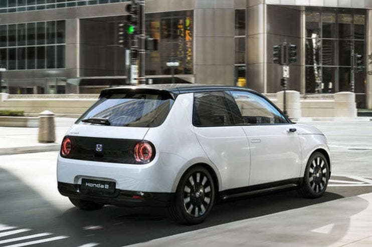 e-Honda electric car