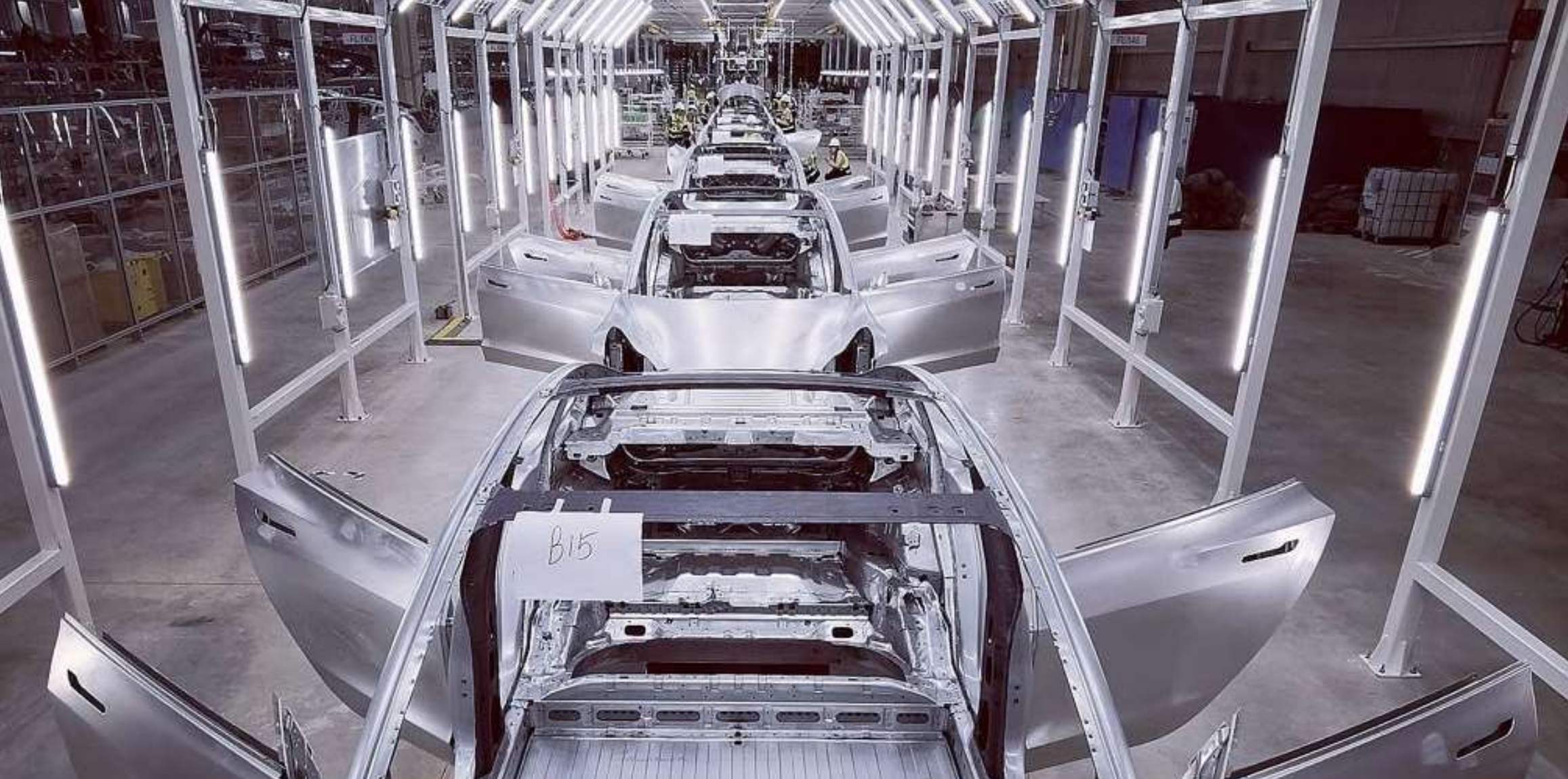 Tesla Gigafactory 3 for electric cars in Shanghai