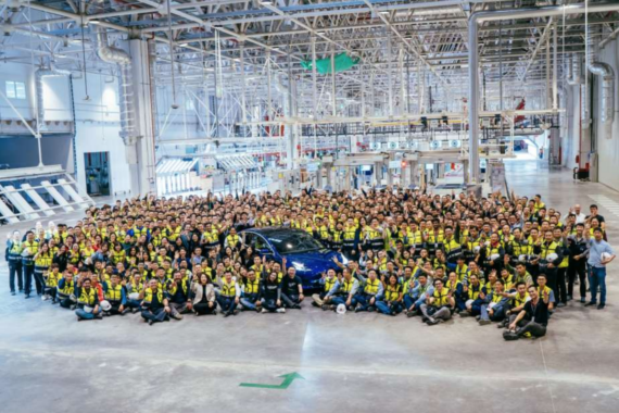 Tesla Delivers Record Production, Gigafactory 3 Making ...