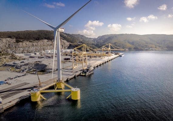 World's Largest Floating Wind Turbine Launching Soon In Portugal