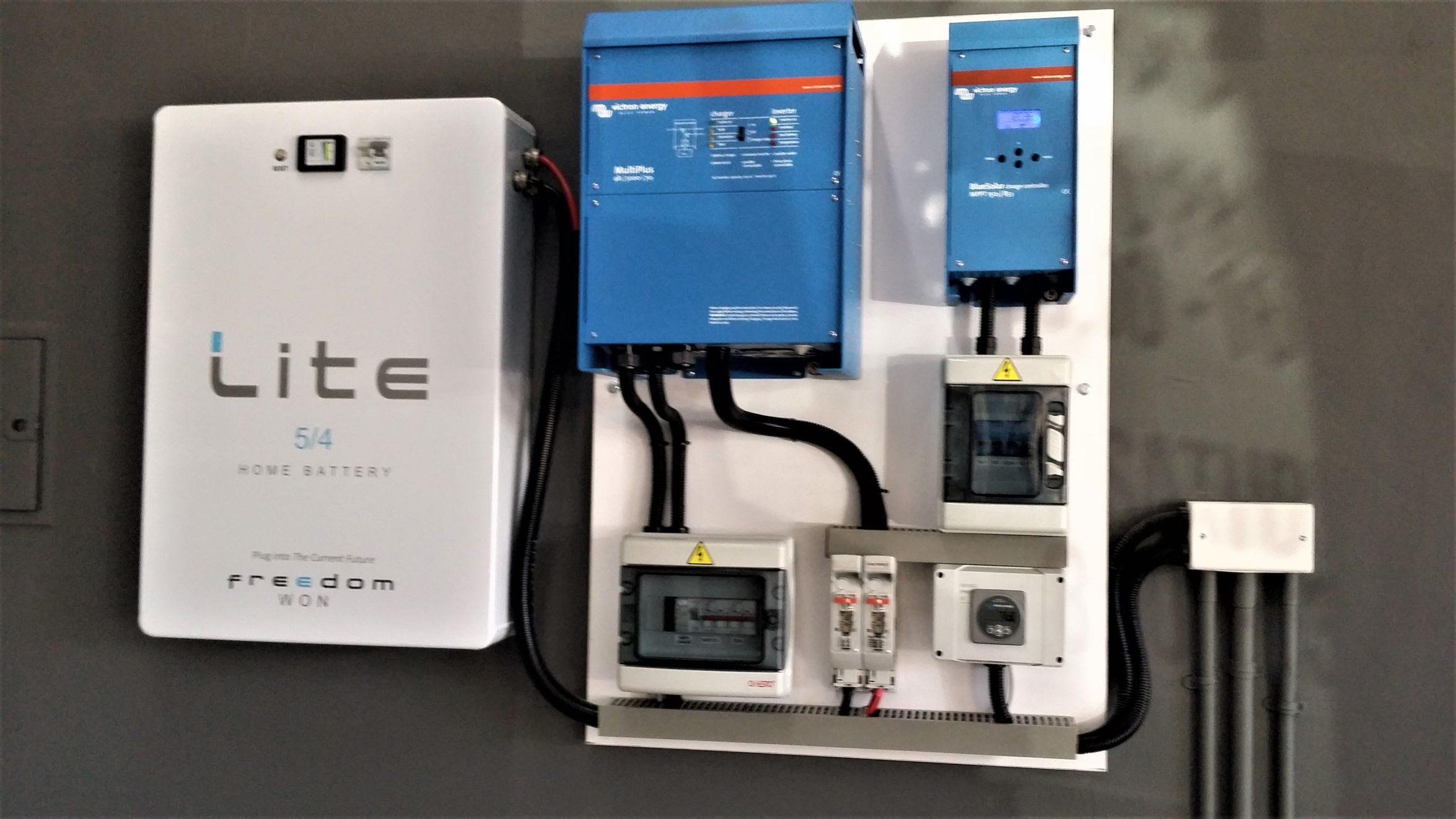Freedomwon 5 kWh Lithium Iron Phosphate batteryby Remeredzai Kuhudzai.