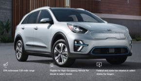Kia Niro Electric for Lyft