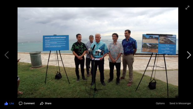 Oahu and Maui Mayors Are Suing the Oil Companies