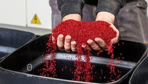 UBQ recycled plastic pellets