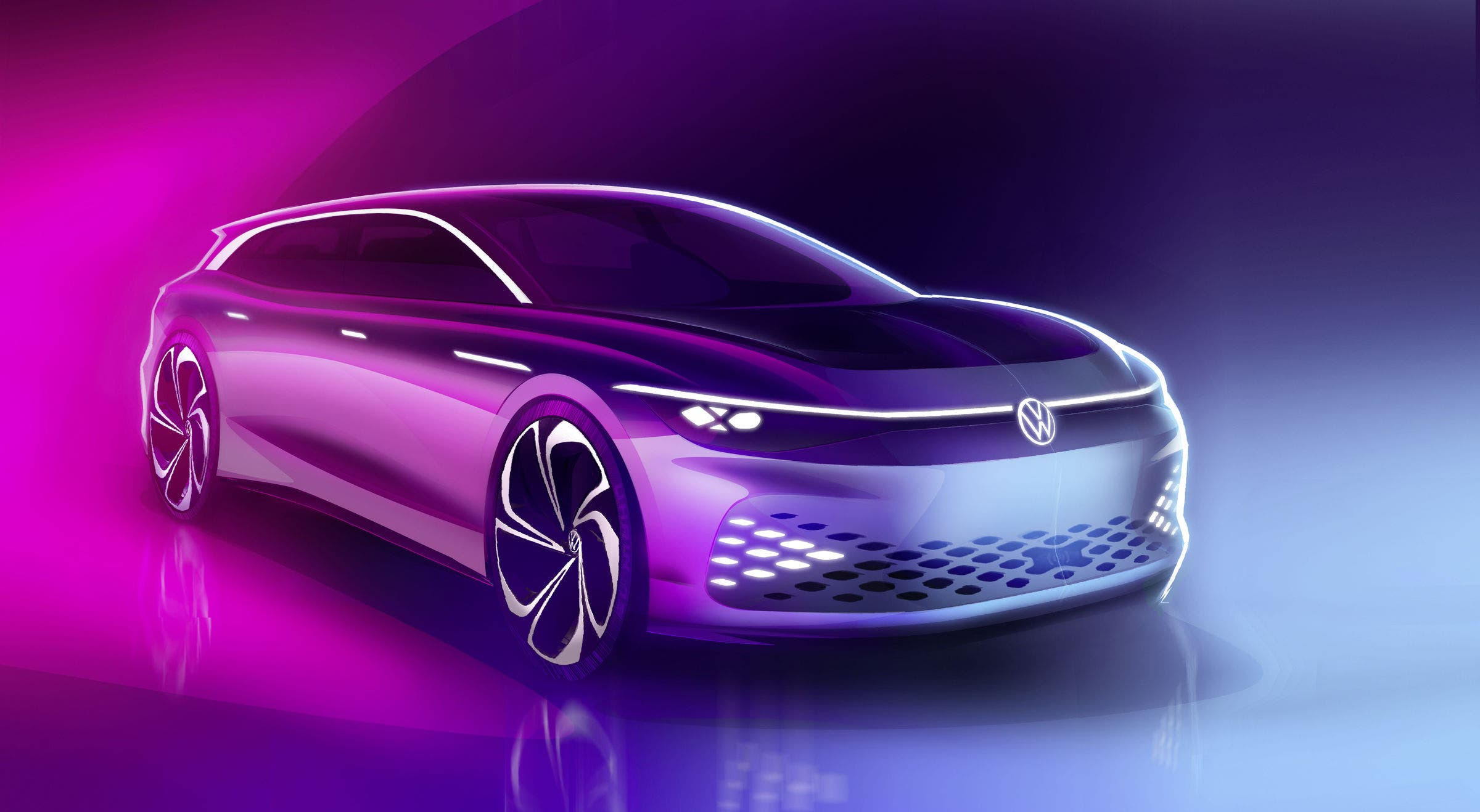 photo of Volkswagen To Introduce ID. SPACE VIZZION At LA Auto Show November 19 image