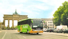 FlixBus fuel cell bus