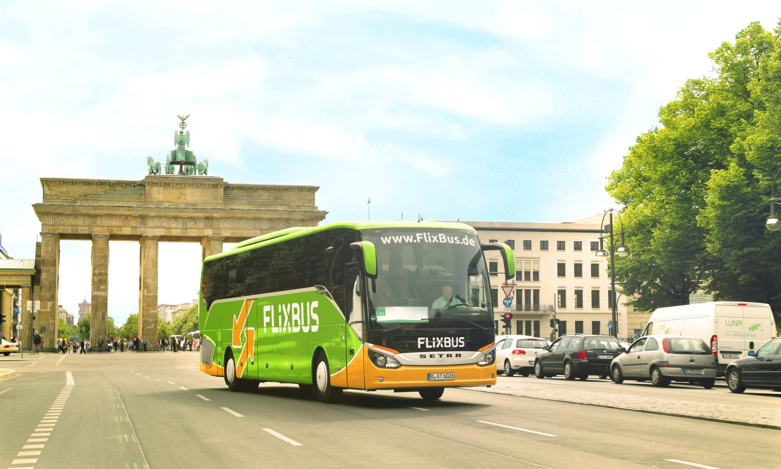 photo of FlixBus Plans Hydrogen Fuel Cell Test Fleet Of Electric Buses For Clean Long Distance Travel image