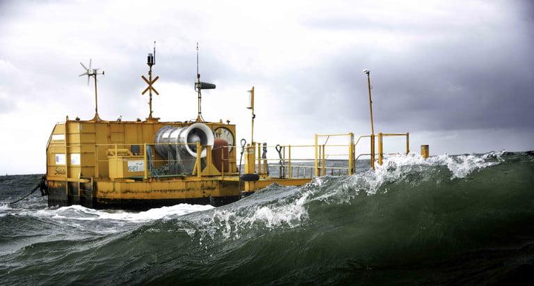 Ocean Energy wave generator